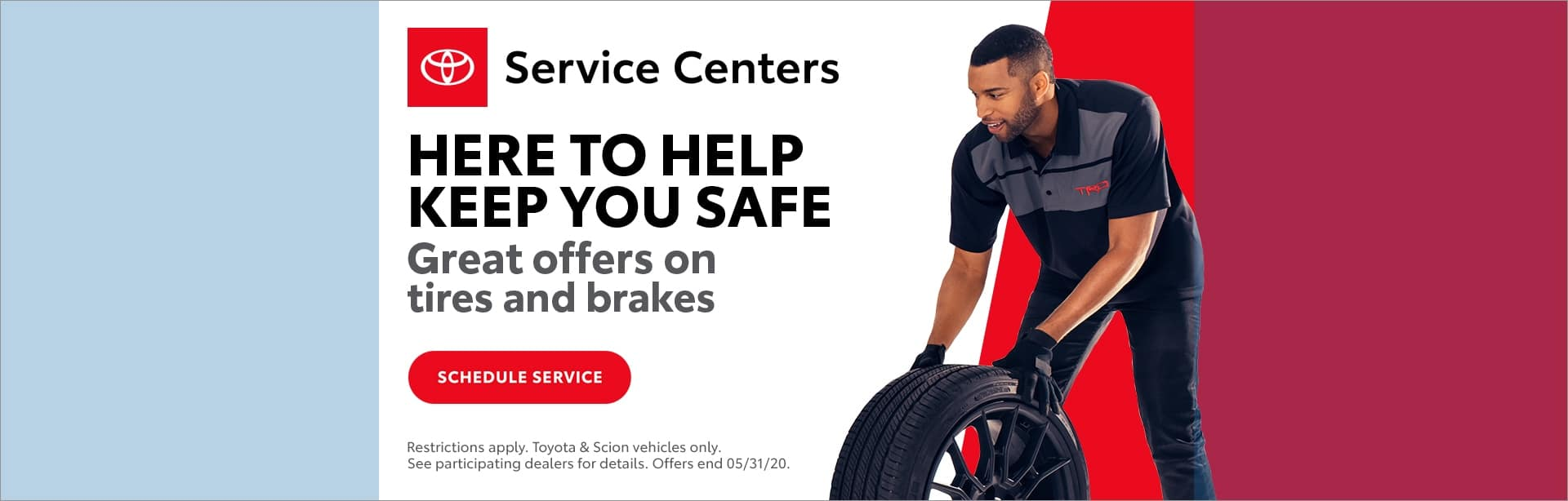 Toyota tire and brake event