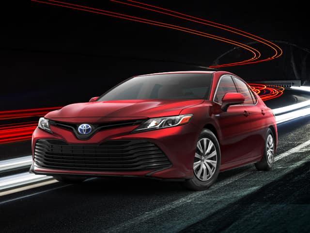New 2022 Toyota Camry Hybrid LE 4D Sedan FWD Automatic