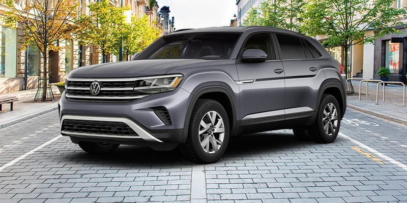<center>2021 Volkswagen Atlas Cross Sport S with 4MOTION Automatic Transmission</center>