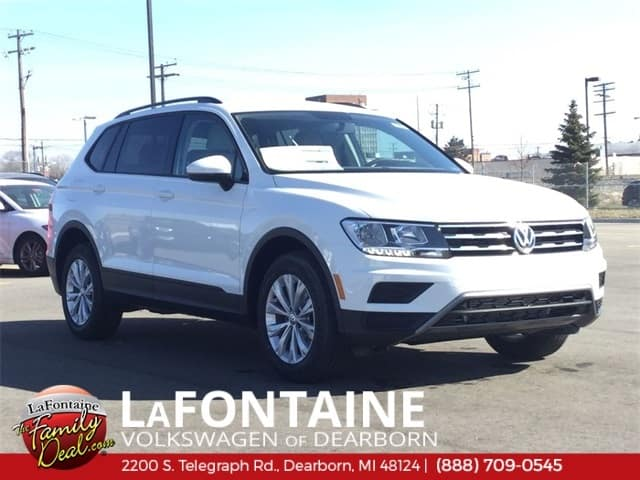 2019 Volkswagen Tiguan S AWD with 4Motion