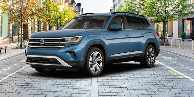 <center>2021 Volkswagen Atlas SE Tech with 4Motion 21.5 Automatic Transmission</center>