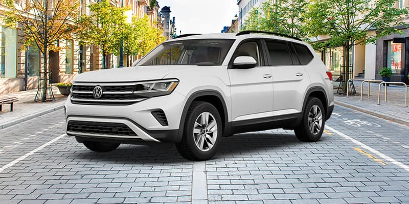 <center>2021 Volkswagen Atlas S with 4Motion AWD Automatic</center>