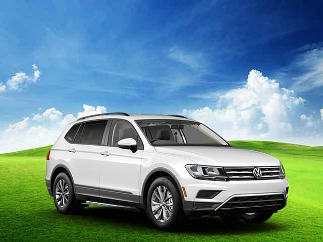 New 2020 Volkswagen Tiguan S AWD with 4MOTION Automatic