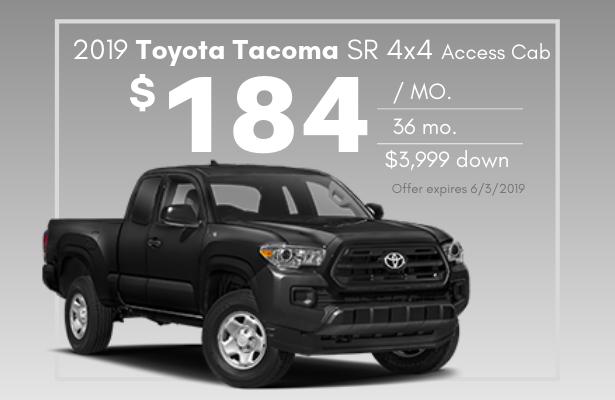 2019 Tacoma SR 4x4 Access Cab