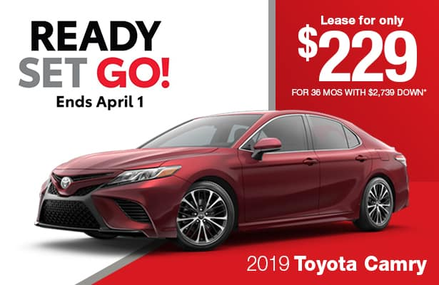 New 2019 Toyota Camry LE FWD