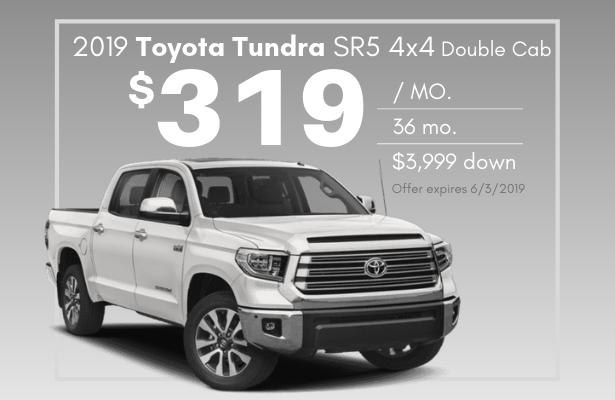2019 Tundra SR5 4x4 Double Cab