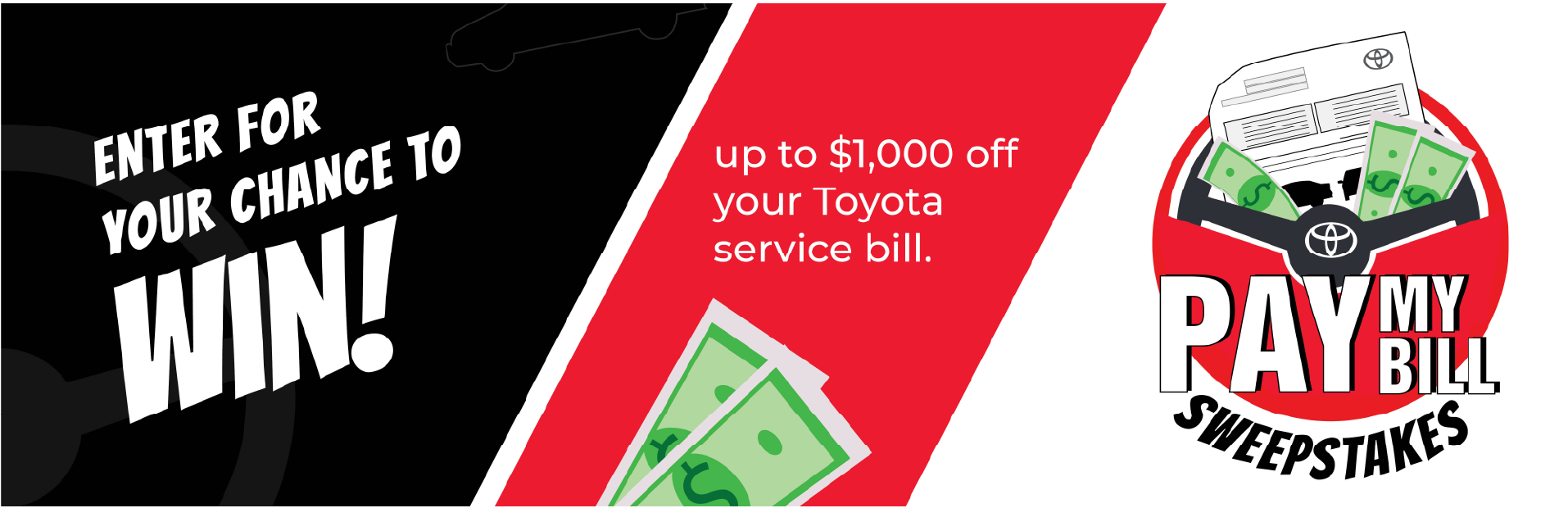 Toyota Pay Your Bill Sweepstakes