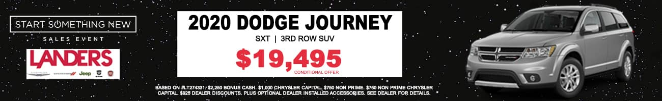 START SOMETHING NEW dodge journey