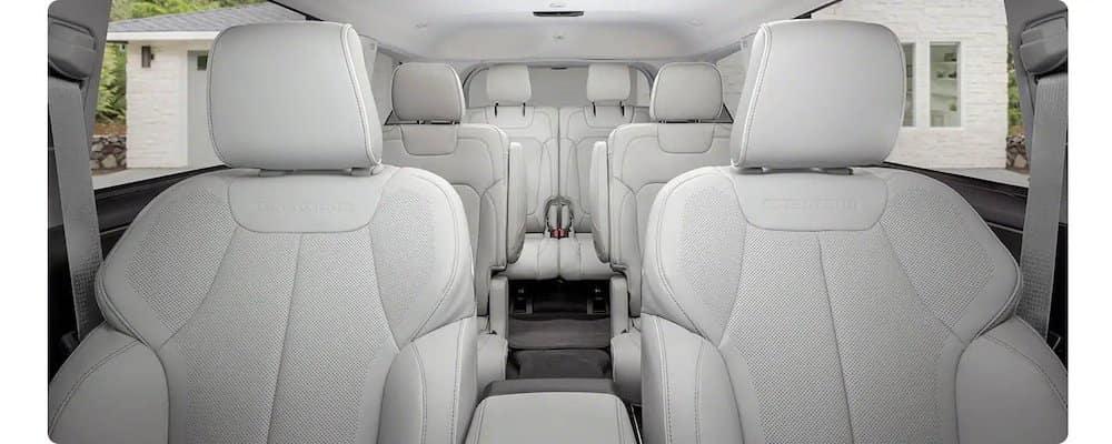 2021 Grand Cherokee L Interior