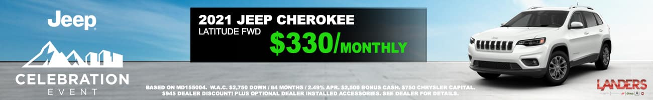 JEEP CHEROKEE homepage april 2021