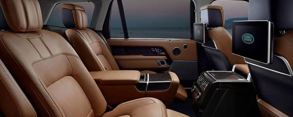 2019 Range Rover Interior with Executive Class seats and rear entertainment