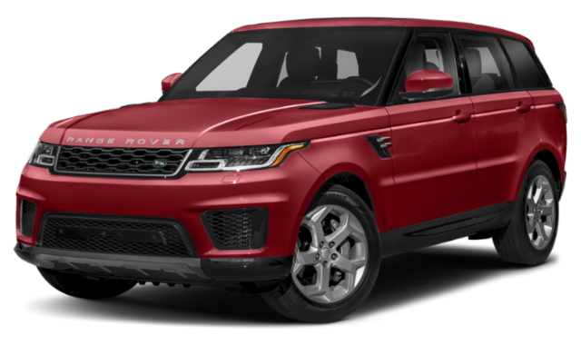 2019 land rover range rover red