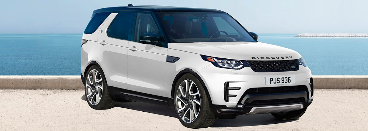2019 land rover discovery white