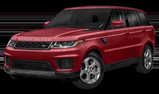 2019 range rover sport red