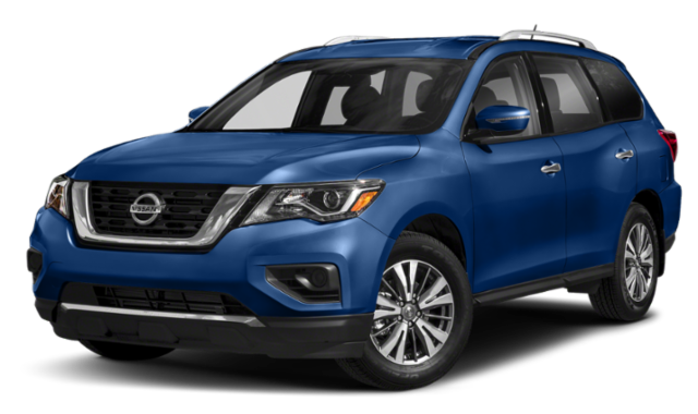 2019 nissan pathfinder blue