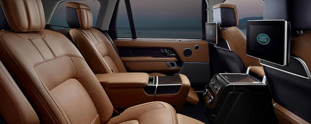 2020 Land Rover Range Rover Interior Features  Range Rover Capacity
