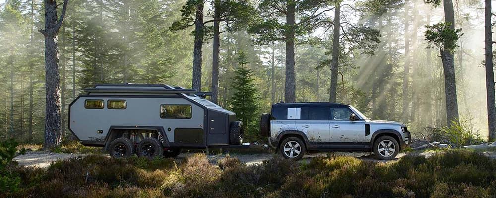 2020 land rover defender towing
