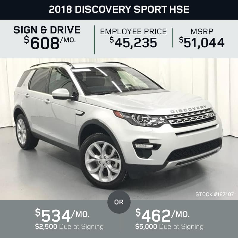 2018 Discovery Sport HSE