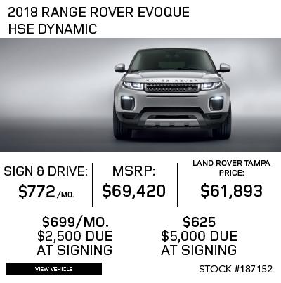 New 2018 Land Rover Range Rover Evoque 5 Door 286hp HSE Dynamic 4 Door 4WD