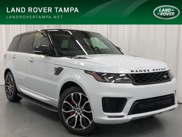 New 2019 Land Rover Range Rover Sport V8 Supercharged Dynamic With Navigation