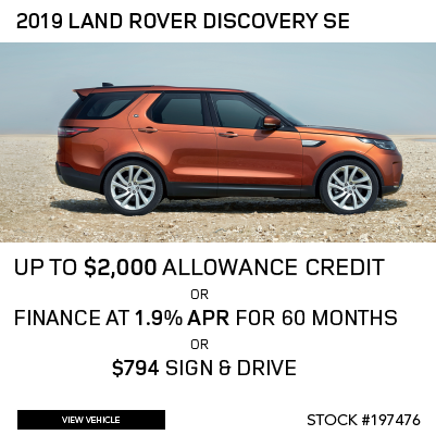 New 2019 Land Rover Discovery SE V6 Supercharged SUV 4WD