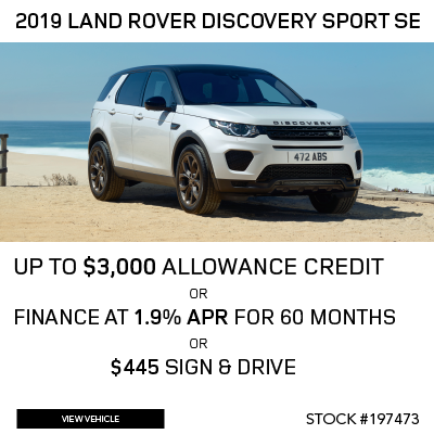 New 2019 Land Rover Discovery Sport SE 4WD 4 Door