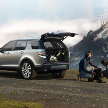 2019 Land Rover Discovery Sport In The Mountains