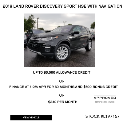 2019 Land Rover Discovery Sport HSE With Navigation