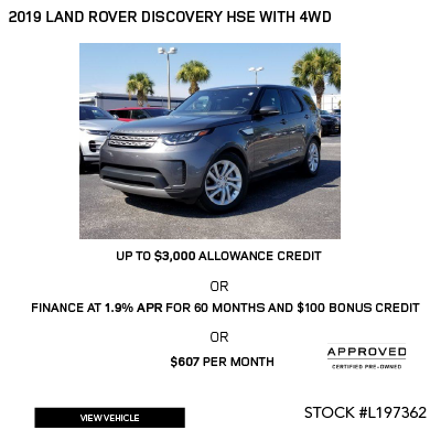 2019 Land Rover Discovery HSE SUV 4WD