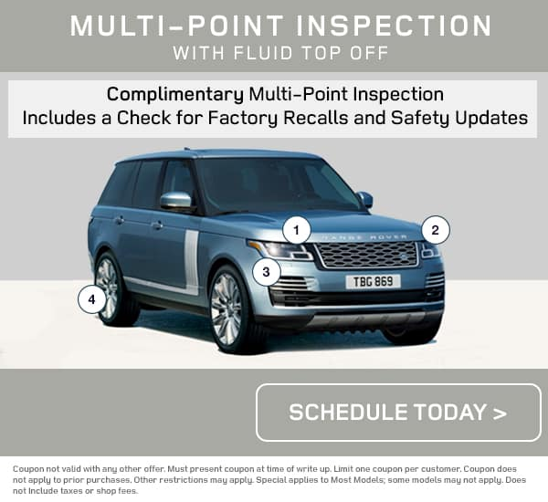Land Rover Multi Point Inspection