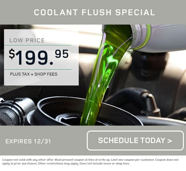 Land Rover Coolant Flush Special