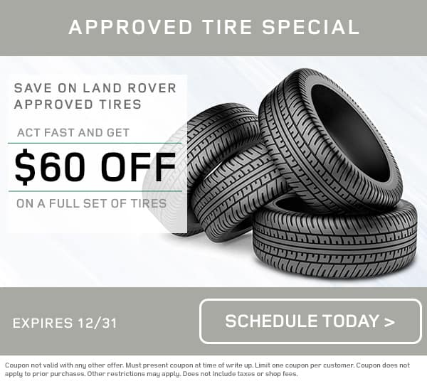Land Rover Tire Special