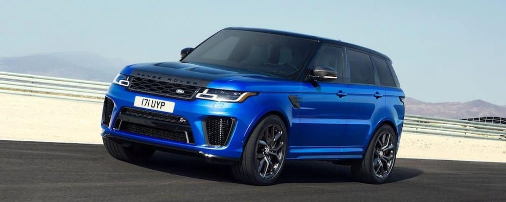 2020 Range Rover Sport Blue near sand