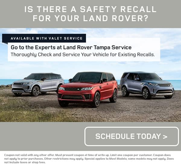 Land Rover Safety Recall Check