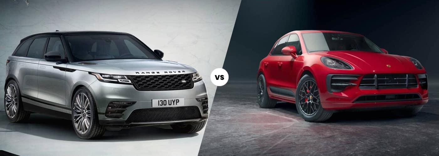 2020 Range Rover Velar vs Porsche Macan