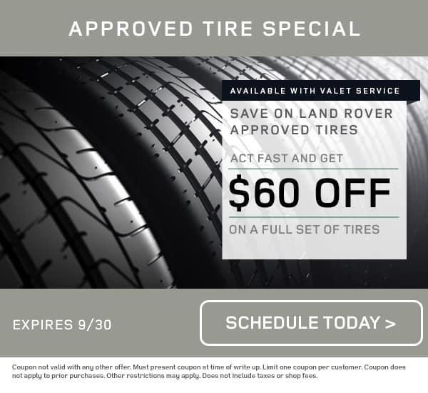 LR Tire Service Special