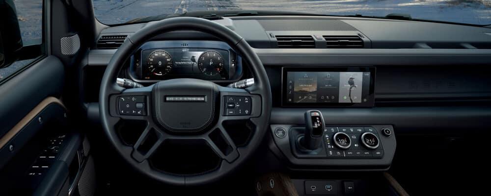 2021 Land Rover Defender Interior dashboard