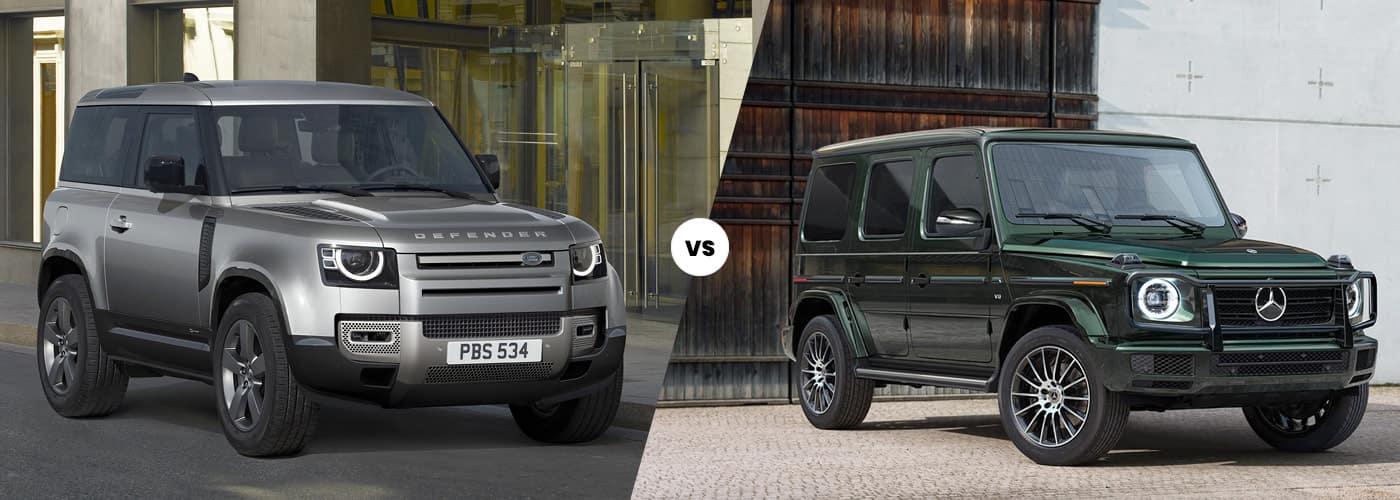 2021 Land Rover Defender vs 2020 Mercedes-benz G-Class Comparison