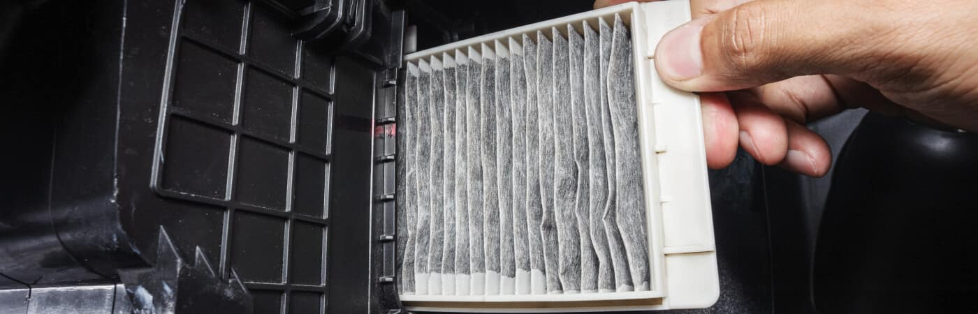 cabin air filter changing