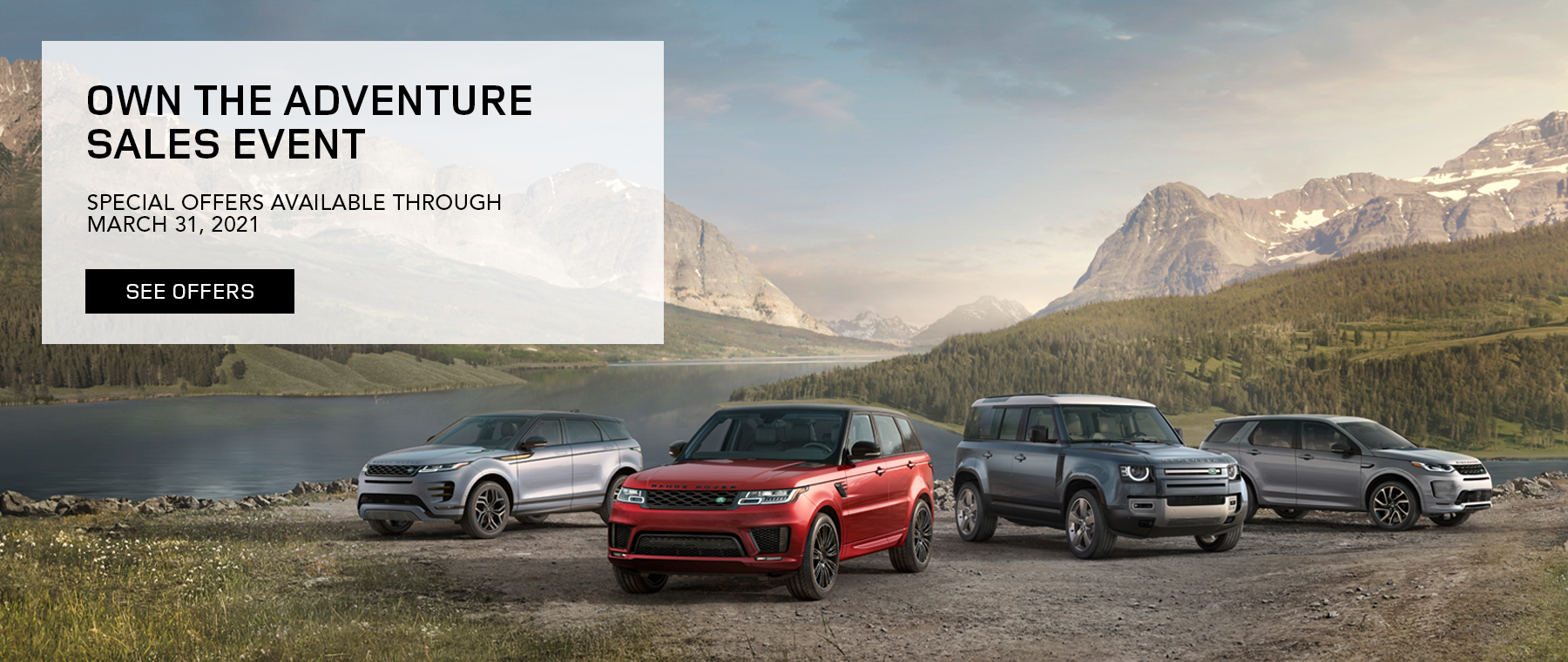 Land Rover Own the Adventure Spring 1800×760
