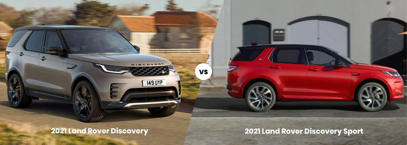 2021 Land Rover Discovery vs Land Rover Discovery Sport comparison