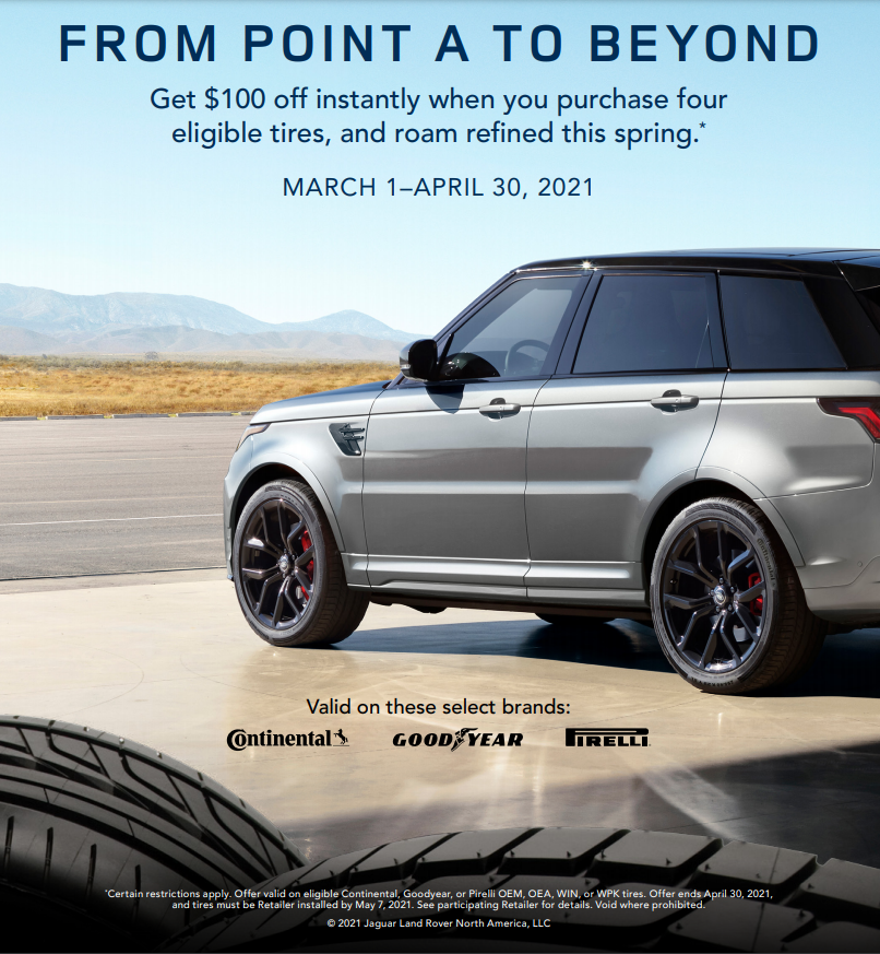 Land Rover Tampa Service Special March 1 - April 30