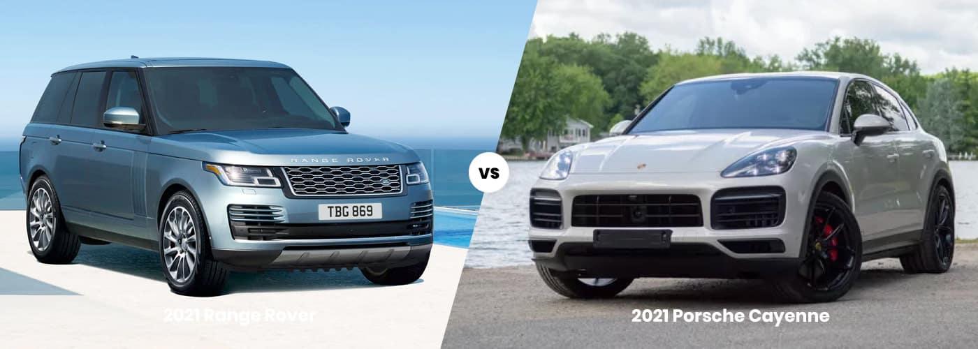 2021 Range Rover vs 2021 Porsche Cayenne comparison
