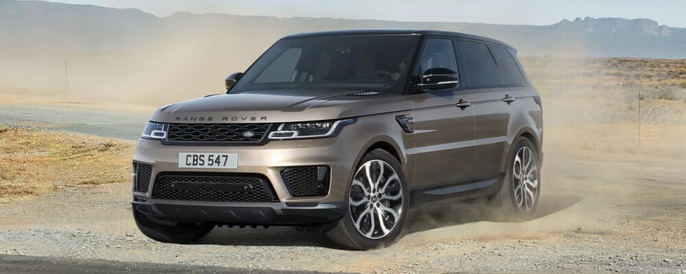 2021 Land rover range rover sport in the sand