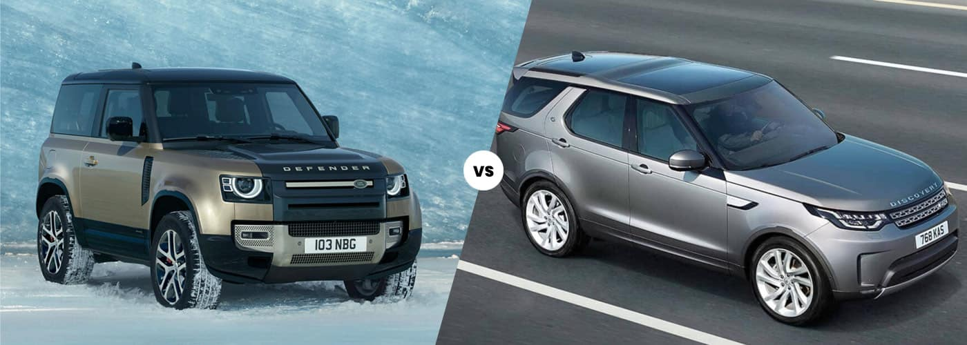 2021 Land Rover Defender vs Land rover discovery comparison