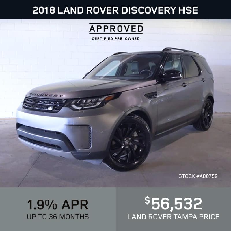 Certified Pre-Owned 2017 Land Rover Discovery Sport HSE 4 Door 4WD