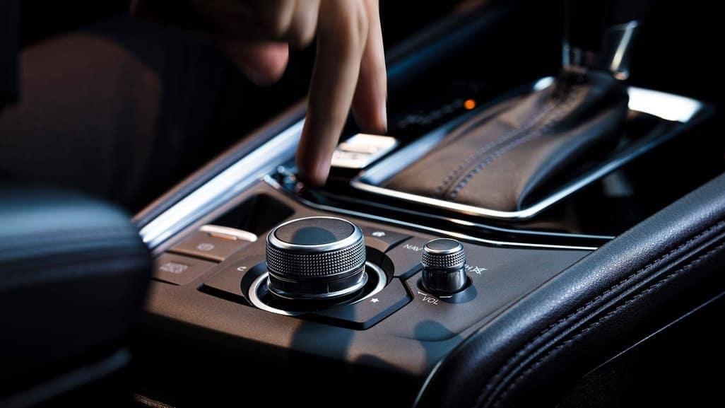 2019 Mazda CX-5 center console control knob