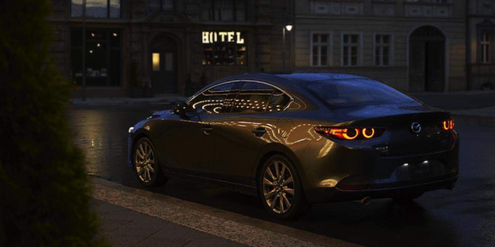 Mazda3 back view