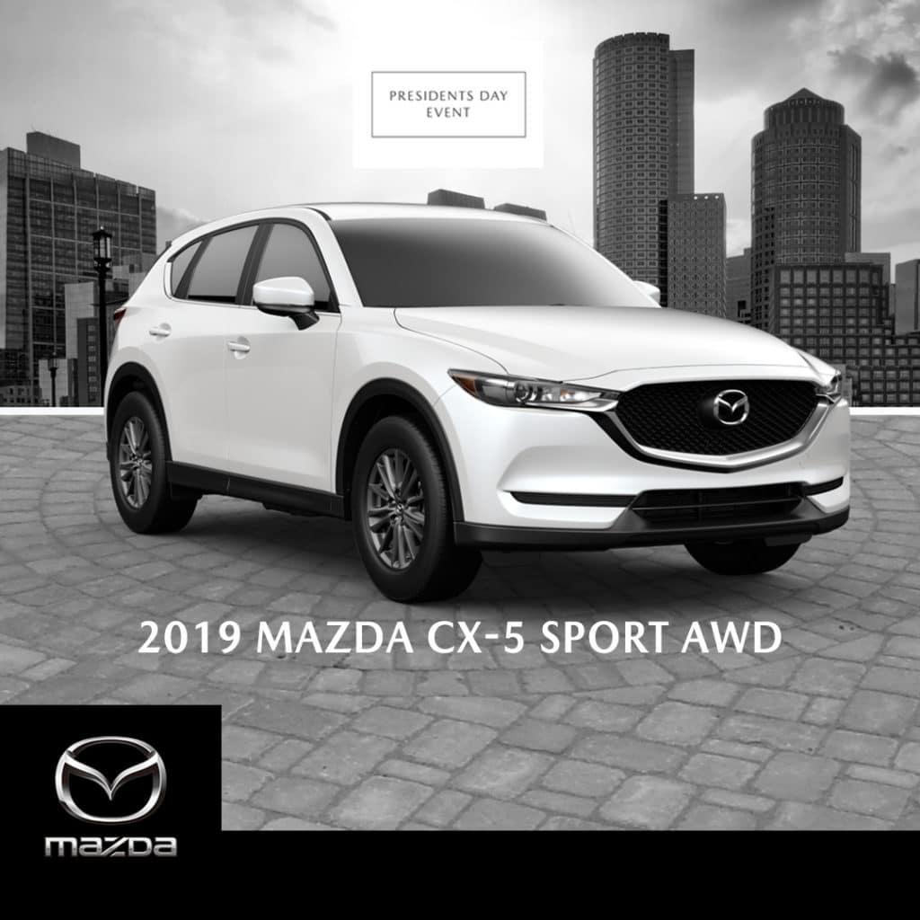 New 2019 Mazda CX-5 Sport ALL WHEEL DRIVE AWD