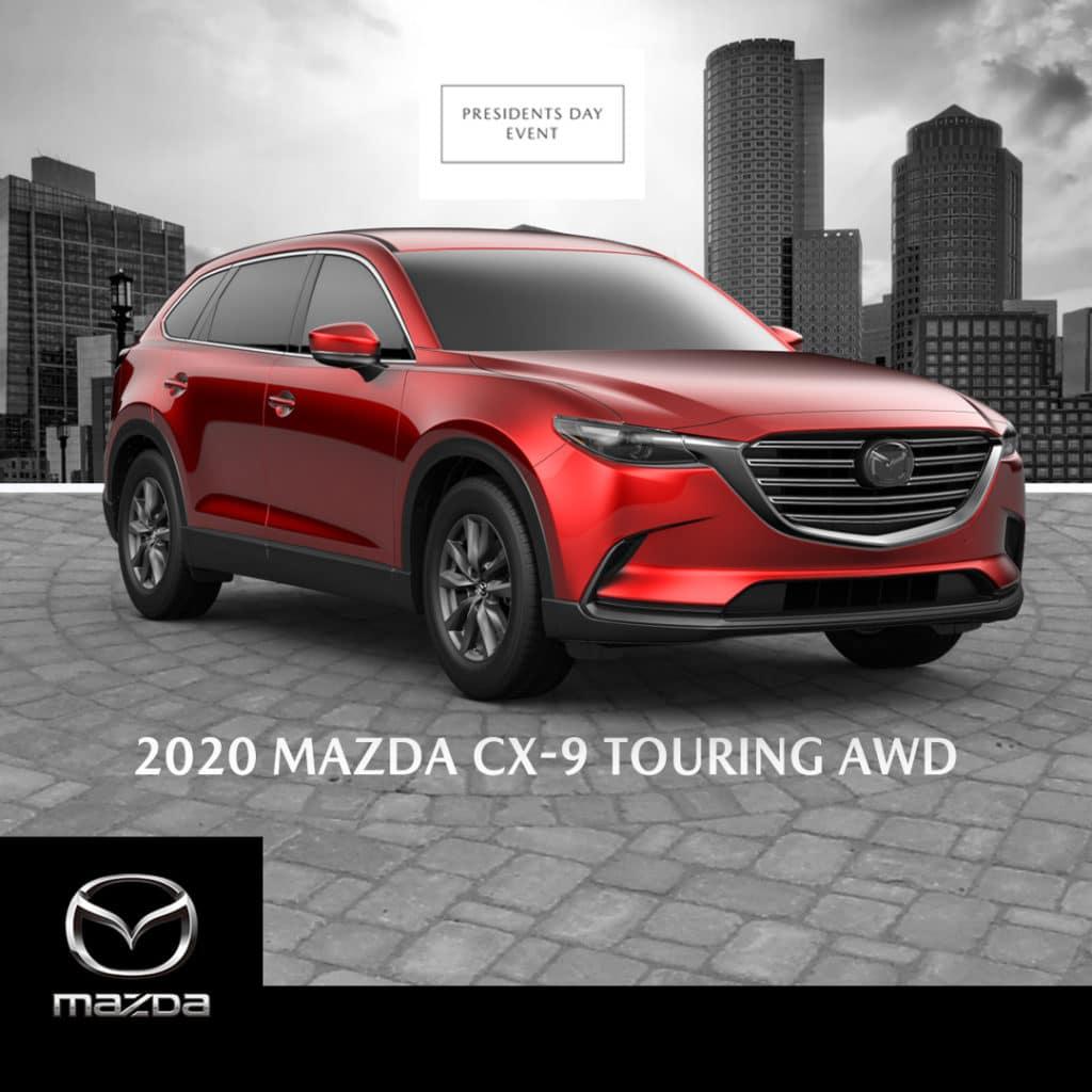 New 2020 Mazda CX-9 Touring POWER LIFTGATE/ ANDROID AUTOMC/ APPLE CARPLAYMC AWD